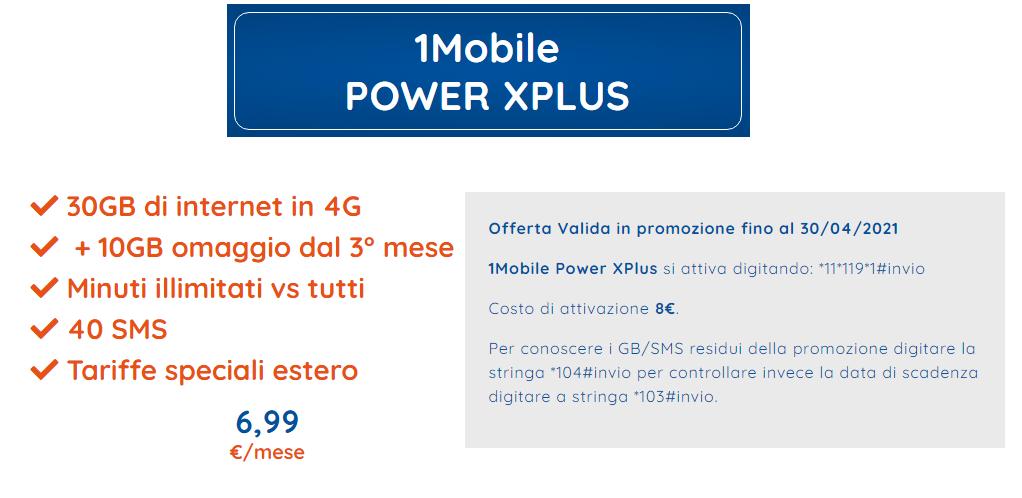 1MOBILE POWER XPLUS