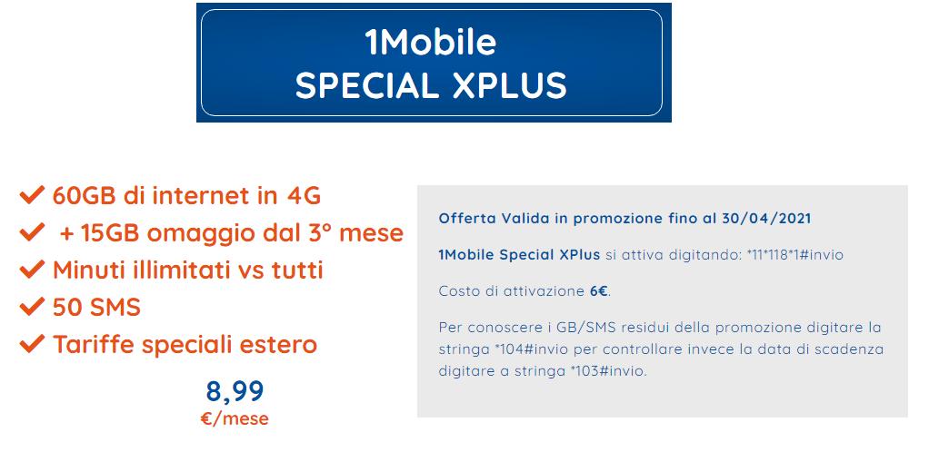 1MOBILE SPECIAL XPLUS